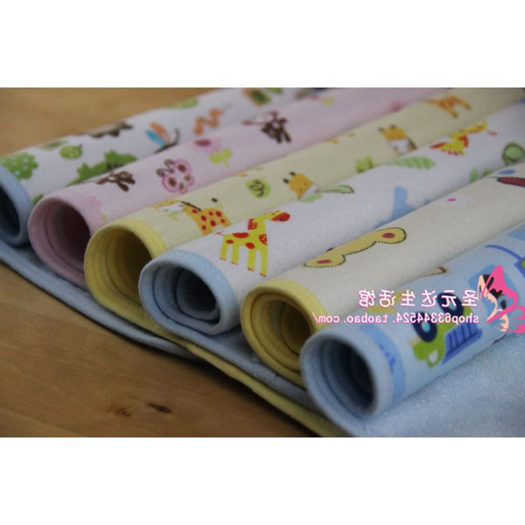 Export YD mat waterproof breathable cotton baby crib diaper pads of bamboo fiber