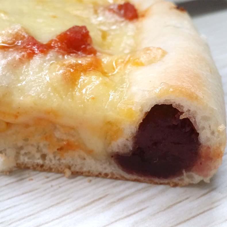 7寸紫薯卷边披萨饼底 芝心卷边 奶酪边比萨花式饼皮纯手工pizza