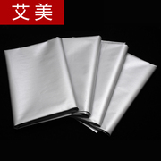 Thick shade curtain fabric curtain cloth curtain floating bedroom balcony living room minimalist modern insulation products