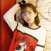 Zhang Dayi with Korean retro glasses frame female metal box glasses glasses frame Pingguang glasses female male