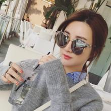 2017 Qi Wei Guan Xiaotong Tang Yan star with a Korean version of Zhang Yishan myopic sunglasses and sunglasses