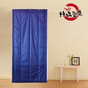 Custom thick cloth insulation waterproof cloth Oxford warm winter air conditioning wind sound insulation cotton curtains home