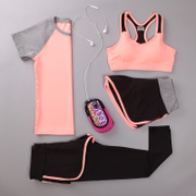 Summer running clothes Couture tights gym speed dry clothing professional Slimming yoga clothes running in the morning