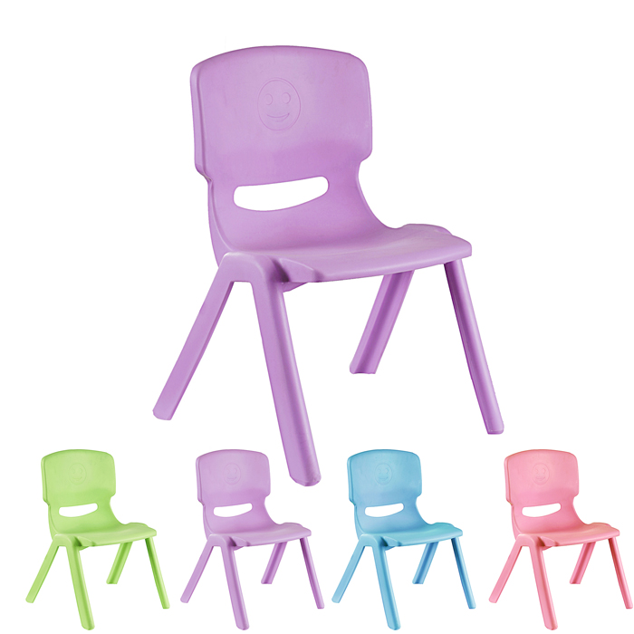 Highchairs plastic plate folding chair backrest portable stool chair for dinner. Kindergarten