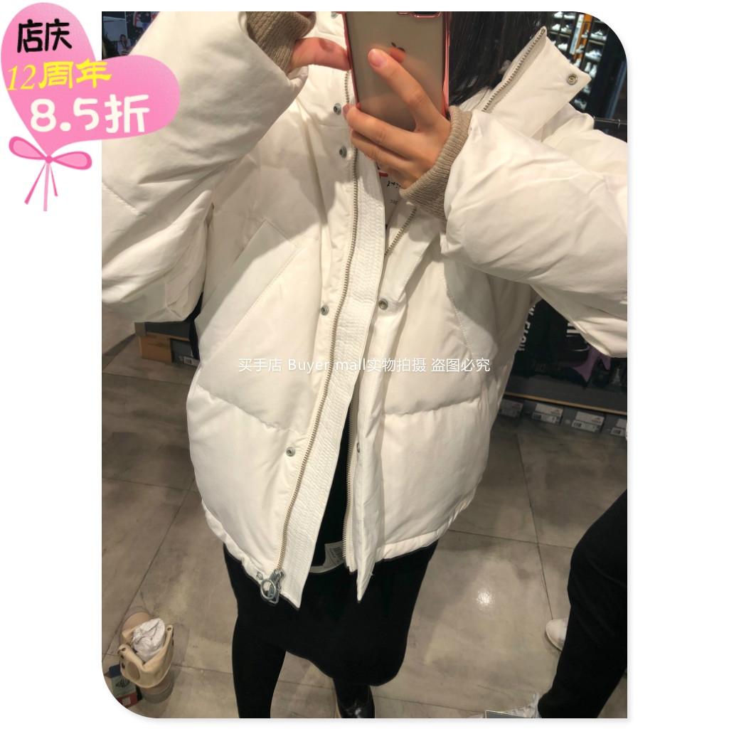 palladium帕拉丁粉白色羽绒服非男款棉衣服羽绒服pdnp74101f