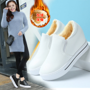 Ikma Nepalese increase in winter shoes plus cashmere cotton shoes 2017 new muffin thick insole Love shoes Korean single shoes