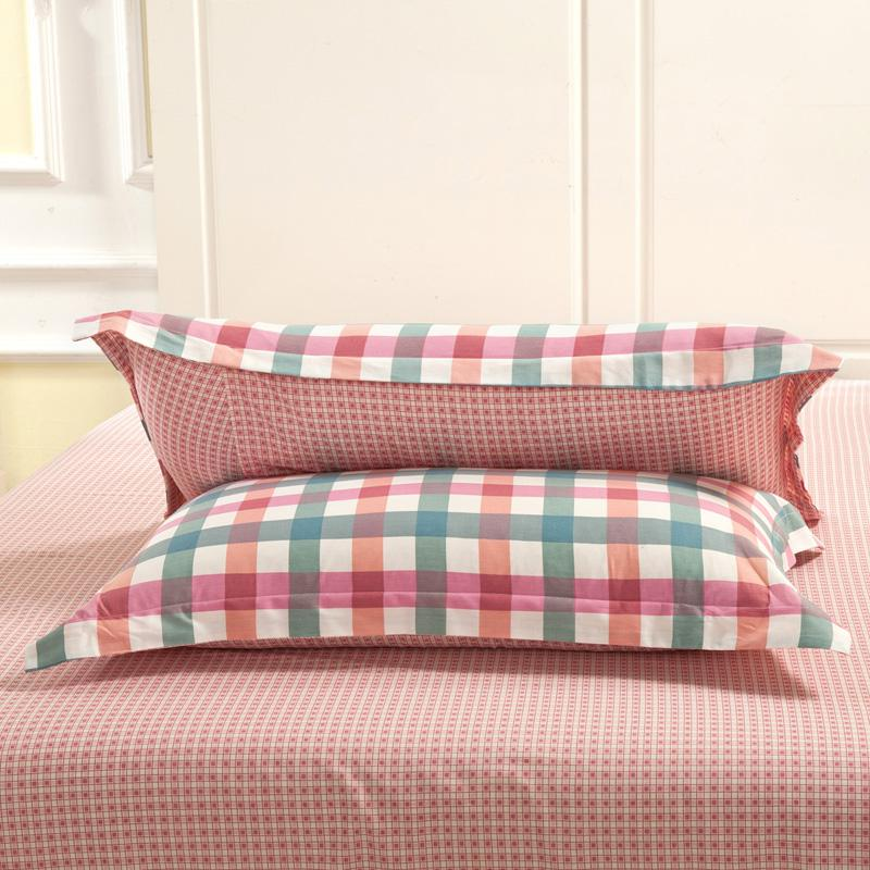 Pillow soft and comfortable, pure cotton 100% pillow, special 48*74 pillowcase, cotton a pair of mail