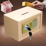 Top voted cm mini cash box safe small office business supermarket hotels password coin safe