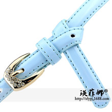 Manufacturers selling 2017 new winter fashion diamond fine lady belt belt quality Taobao explosion models 266