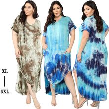 fat woman plus big size casual print dresses for ladies xxxl