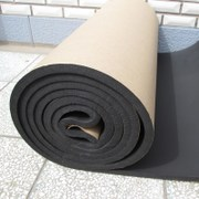 Self-adhesive rubber insulation board with adhesive water pipe insulation wall insulation roof insulation cotton reflective aluminum foil