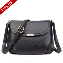 Messenger bag old leather bag leather bag middle-aged women in the old lady bag bag 2016 new diagonal