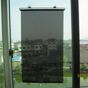 Balcony suction cup shade bedroom bedroom thermal insulation shading curtain office office telescopic sun blind curtain
