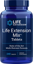 Life extension mix tablets22 240 vitamins, fruit and vegetable extracts in April