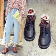 In the autumn of 2017 New Retro Shoes female student Harajuku all-match college Korean ulzzang shoes tide wind