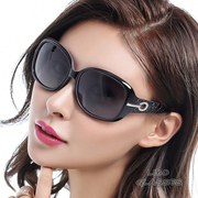 2016 new polarized sunglasses sunglasses elegant lady tide round eyes are big long face driving glasses frame