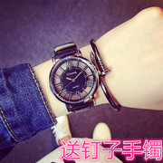 Watch the men's creative personality of students. Women fashion lovers for a simple retro ulzzang of