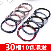 High elastic rubber ring hair rope Tousheng Korean small fresh adult simple hair accessories leather headgear