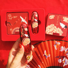 New Palace Museum Chinese style co branded make-up set, crane Limited birthday gift, female student set