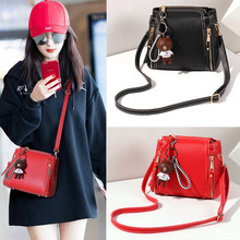 new summer small bag female 2018 new Korean mobile female bag shoulder Messenger bag mini simple wild tide
