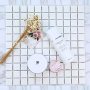 White mosaic mat ceramic pad Photo Props photography props props skin care cosmetics background