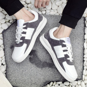 The fall of men's trend of Korean sports shoes in Hong Kong Society all-match student winter wind canvas shoes shoes tide