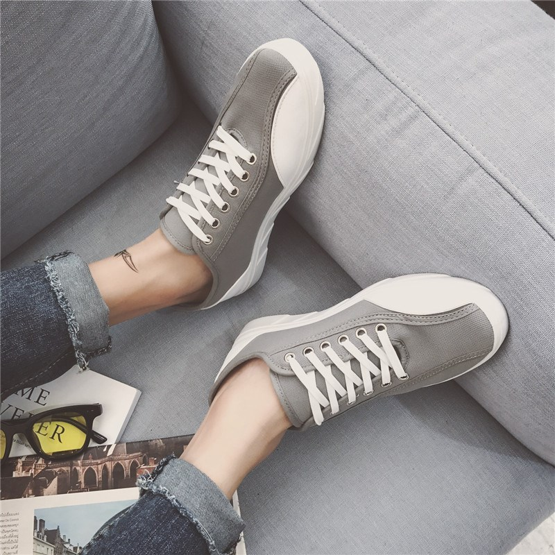 The new low 0aidas classic canvas shoes breathable shoes shoes white lazy lovers