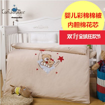 Cotton embroidered baby quilt baby quilts for children and baby bedding baby cartoon stickers embroidered cloth air conditioning