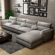 Beautiful beautiful poem of modern living room sofa cloth sofa sofa detachable latex beioufeng living room furniture.