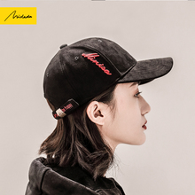 Cap women's hat spring and autumn black Harajuku fashion casual Korean wild students street tide baseball cap