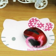 South Korea imported Hello Kitty rubber cloth mouse pad mouse pad girls of the most loved Kitty mat