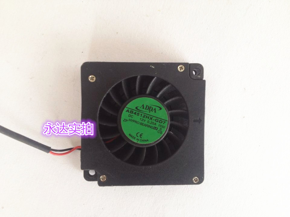 ADDA blower fan 4510 12 v 0.20 A AB4512HX - GD7