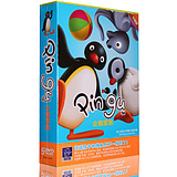 genuine clay animation discs small penguins family PINGU5DVD high-definition picture quality children cartoon CD