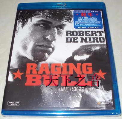 Blu ray BD Raging Bull / mad cow /Raging Bull/A area. Chinese (H)