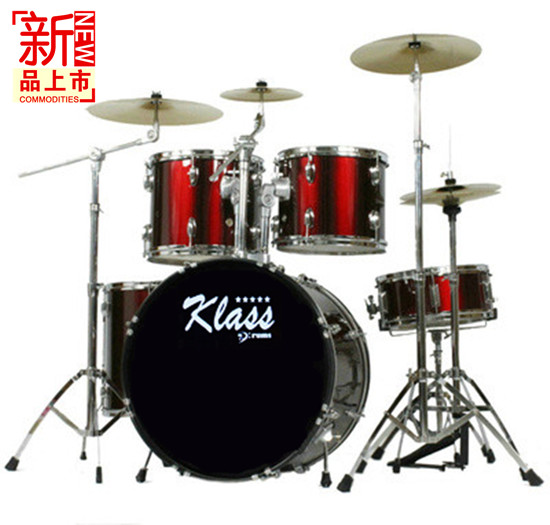 New type authentic professional performance adult drums drum kit 5 drums 3 tablets with thick material Multicolor half price