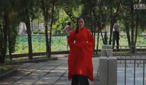 Rental costume xuanji Hanfu with double curved ju Han ceremonies red dance dress costume