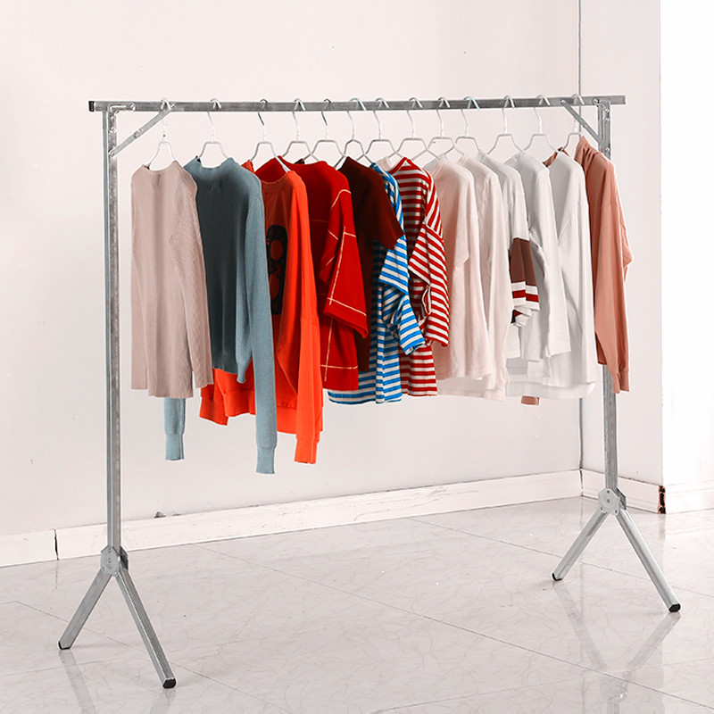 Booth fold dry cleaner clothes reveal frame vertical hanger household fall to the ground