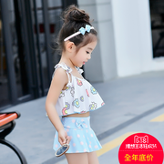 Korean children baby girls girls children swimsuit split children swimsuit Princess Baby girl children