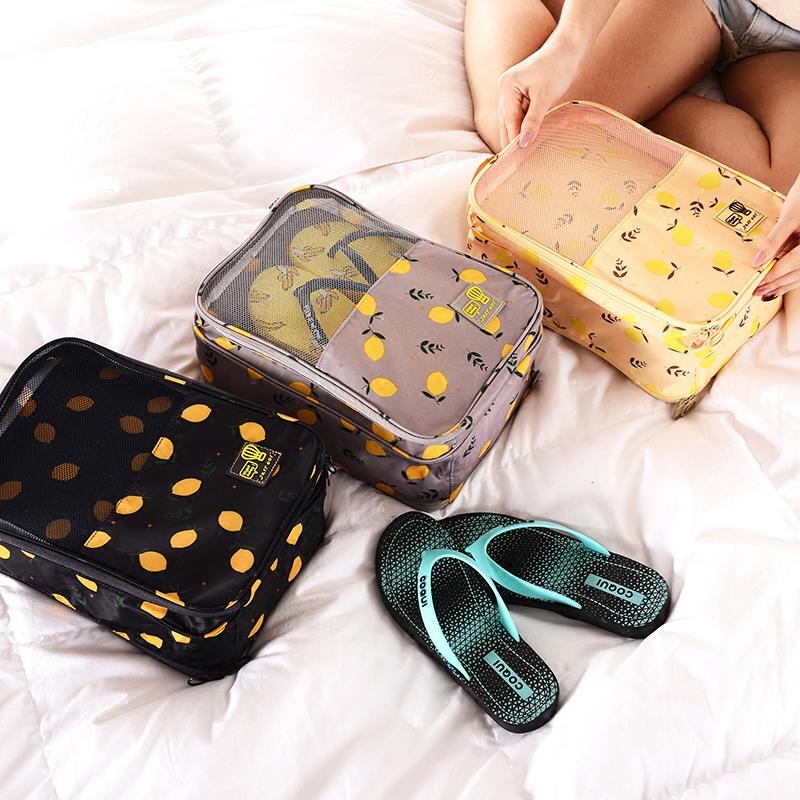 旅行鞋子收纳袋装鞋袋子鞋包球鞋运动防水防尘鞋套鞋袋收纳包