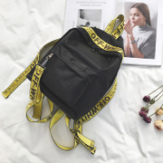 Han edition personality ribbons backpack boy girl children large capacity, a primary school pupil's school bag contracted travel bag