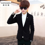 Men's small business suit youth casual suit young men's Korean version of the handsome trend of student coat single West