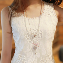End of spring and summer playing female Joker slim slimming lace Camisole sleeveless Korean yards took top tide