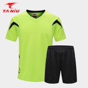 Football suit, children's short sleeved shirt, men's and women's light board, football training clothes, primary school students, customized team buy Shirts