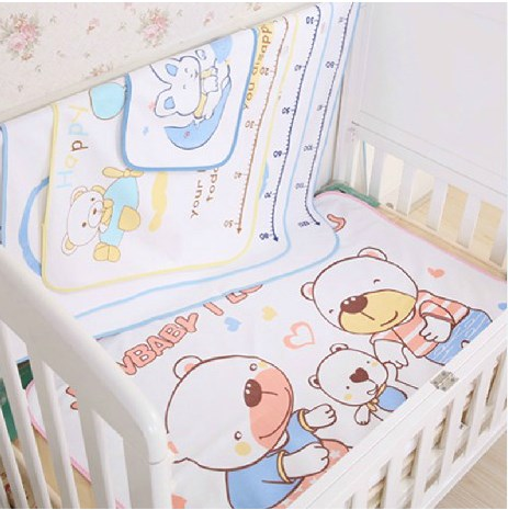 Baby with height ruler, separated urine pad, baby sheets, mattress waterproof, super washable pad, high quality mail