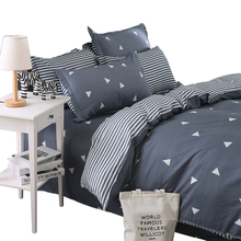 American cartoon fashion textile bedding cotton printing four pieces of spring and summer special offer machine washable bed linen