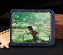The movie 1EN6 Wallet Purse custom denim for men and women
