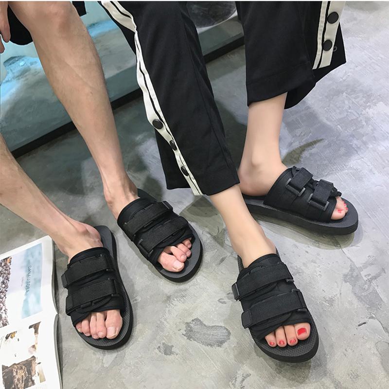 鹿姬越南拖鞋男一字拖凉拖鞋情侣夏季凉鞋男防滑平底沙滩拖鞋男潮