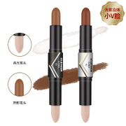 A price double stick high light shadow Concealer & brighten silhouette nose shadow V face high light pen silkworm