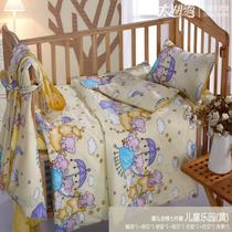 Lake snow quality infant and children fall winter held silk quilt core spring 100% Mulberry silk cotton newborn bedding