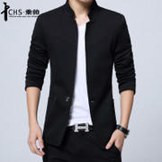 The spring and autumn leisure suit jacket Korean slim young men suit coat collar Tunic